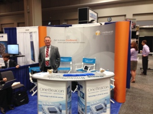 OBTI's Todd Lauer manning our booth
