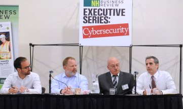 OneBeacon's Dave Molitano is pictured on the far right.